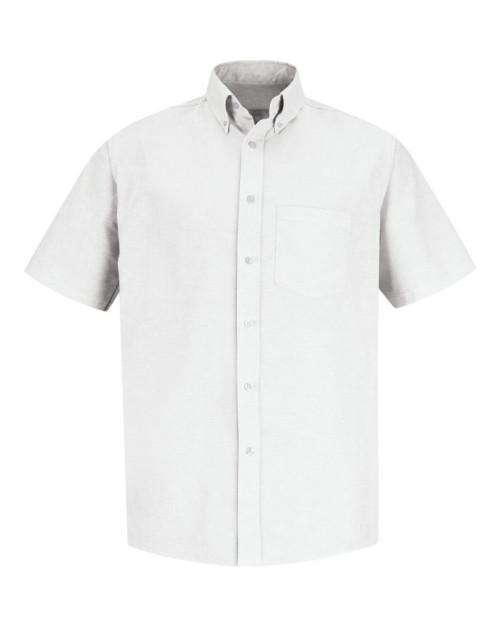 Red Kap SR60EXT Men's Executive Oxford Dress Shirt - White - 20 #%20
