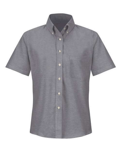 Red Kap SR61 Women's Executive Oxford Dress Shirt - Gray - 20 #%20