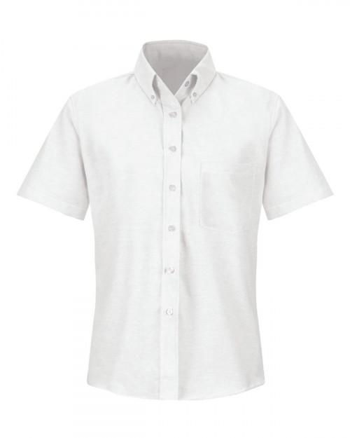 Red Kap SR61 Women's Executive Oxford Dress Shirt - White - 20 #%20