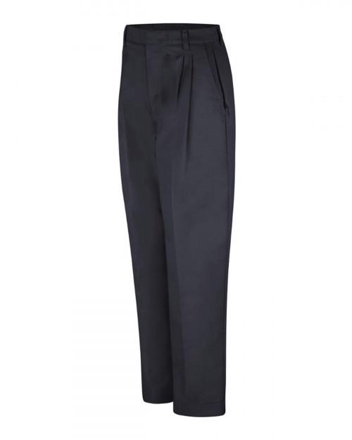 Red Kap PT39 Women's Pleated Twill Slacks - Black - 20 #%20