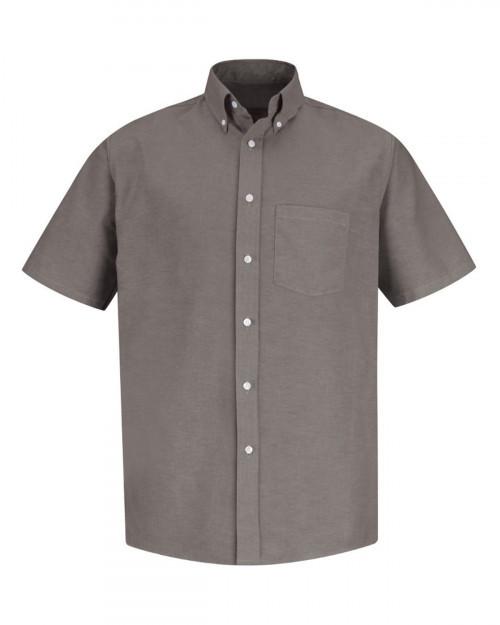 Red Kap SR60EXT Men's Executive Oxford Dress Shirt - Gy-Grey - 20 #%20