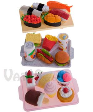 Japanese Food Eraser Sets #food