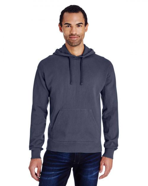 ComfortWash by Hanes GDH450 Unisex 80/20 Pullover Hood Sweatshirt - Anchor Slate - S #%20