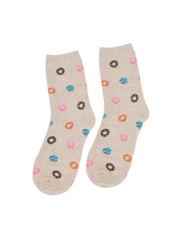 Fruit Food Printed Quarter Length Socks #food