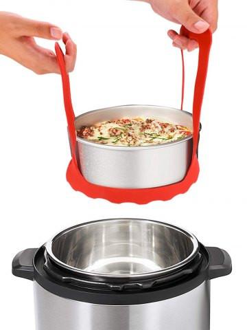 Silicone Food Steamer Basket #food