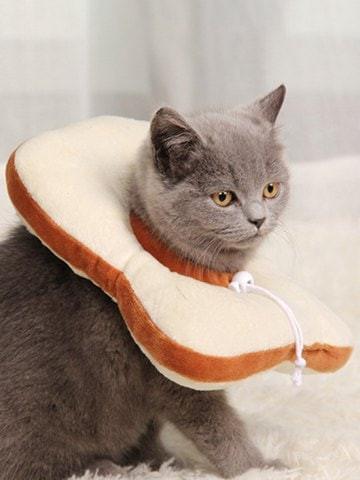 Food Shape Adjustable Cat Collar #food