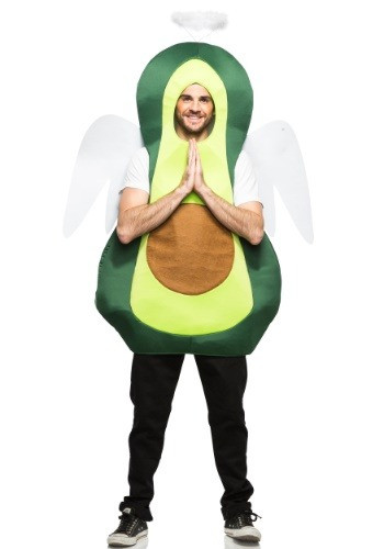 For a Halloween costume that's fun and humorous, the Adult Holy Guacamole Costume is just what you're looking for! #food