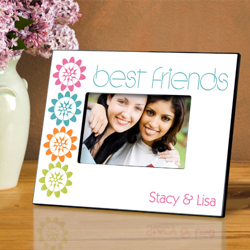 Picture Frames featuring Best Friend themes in several colors and styles. Free Personalization! #best