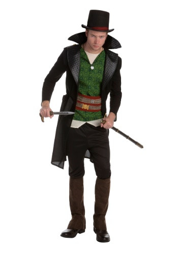 It's time to take Starrick Industries down one crooked leader at a time in this Assassins Creed Jacob Frye Classic Men's Costume. This costume features the look of the co-main character from Assassins Creed Syndicate. #Jacob