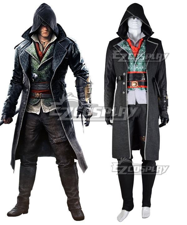 Assassin's Creed Syndicate Jacob Frye Cosplay Costume - B Edition #Jacob