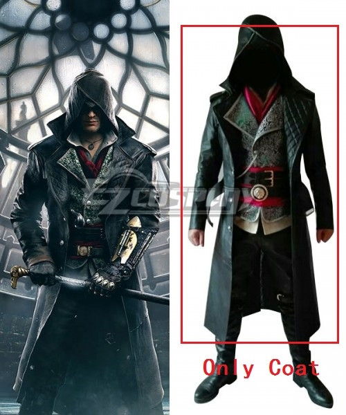 Assassin's Creed Syndicate Jacob Frye Cosplay Costume - C Edition - Only Coat #Jacob