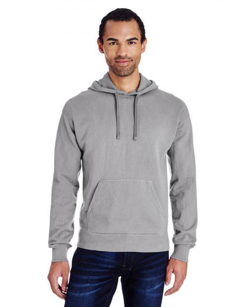 ComfortWash by Hanes GDH450 Unisex 80/20 Pullover Hood Sweatshirt - Concrete - S #%20