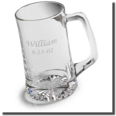 Classic styled 25 ounce personalized mug. A great Gift. Ideal for Groomsmen or Executive Gifts. Classically styled with a comfortable handle and weighty bottom, this sports mug holds 25 fluid ounces of your favorite beverage. Personalized with two lines o #mug