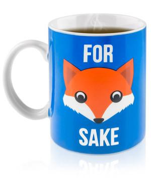 For Fox Sake Mug #mug