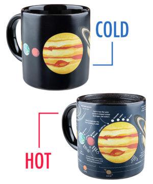 Heat-Changing Planet Mug #mug