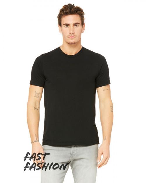 Bella + Canvas 3880C Fast Fashion Viscose Fashion Unisex T-Shirt - Black - XS #fashion