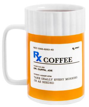 Prescription Bottle Coffee Mug #mug