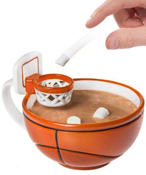 The Handcrafted Basketball Mug #mug