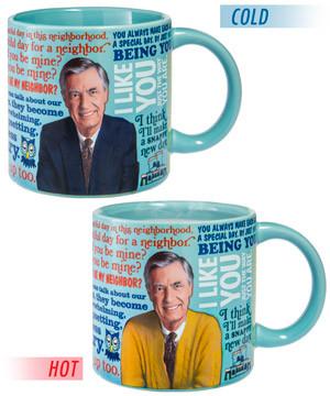 Mister Rogers Sweater Changing Mug #mug