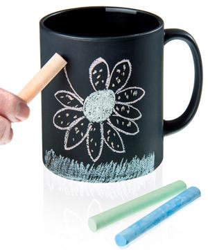 Chalk Talk Chalkboard Coffee Mug #mug