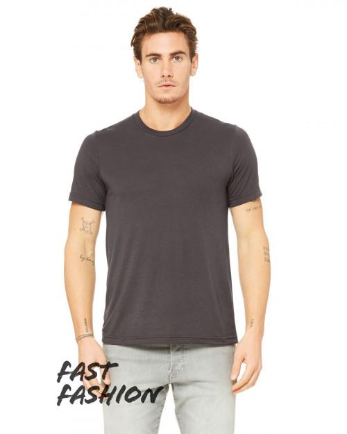 Bella + Canvas 3880C Fast Fashion Viscose Fashion Unisex T-Shirt - Dark Grey - XS #fashion