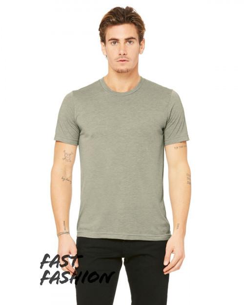 Bella + Canvas 3880C Fast Fashion Viscose Fashion Unisex T-Shirt - Heather Stone - XS #fashion