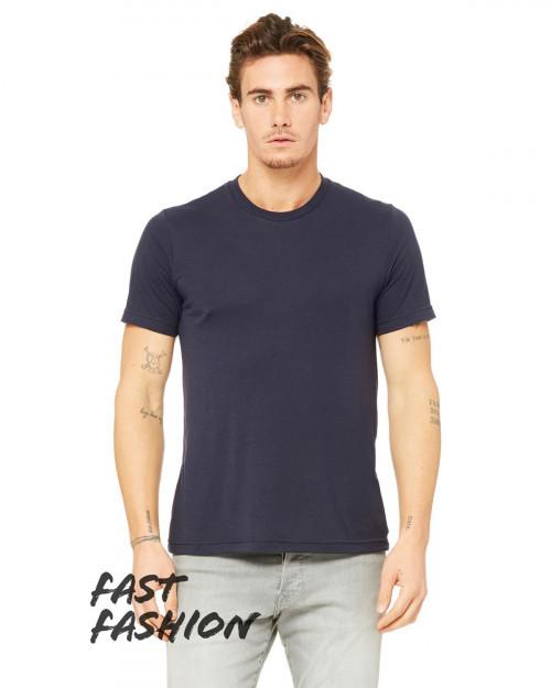 Bella + Canvas 3880C Fast Fashion Viscose Fashion Unisex T-Shirt - Midnight - XS #fashion