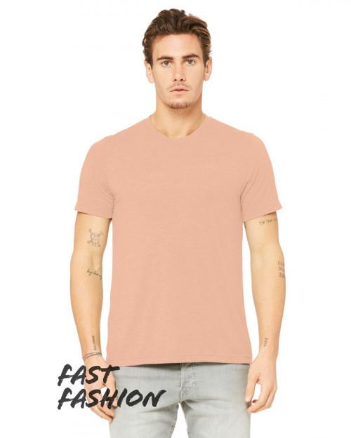 Bella + Canvas 3880C Fast Fashion Viscose Fashion Unisex T-Shirt - Peach - XS #fashion