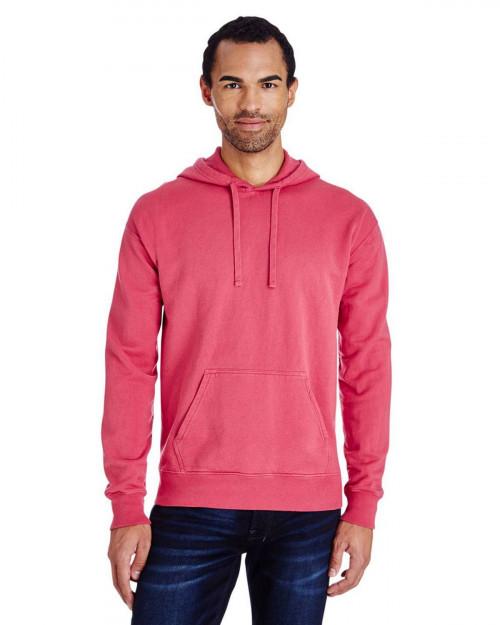 ComfortWash by Hanes GDH450 Unisex 80/20 Pullover Hood Sweatshirt - Crimson Fall - S #%20