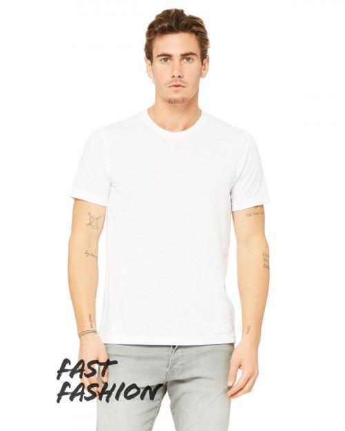Bella + Canvas 3880C Fast Fashion Viscose Fashion Unisex T-Shirt - White - XS #fashion