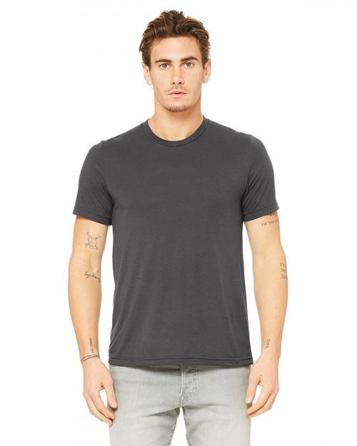 Bella + Canvas 3880 Fast Fashion Unisex Viscose Fashion Tee - Dark Grey - XS #fashion