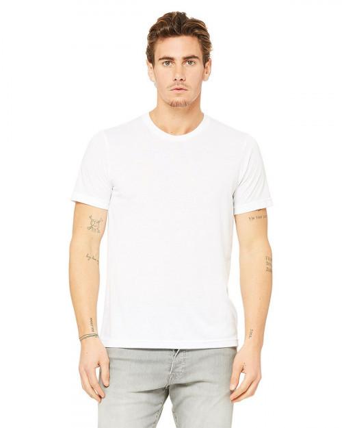 Bella + Canvas 3880 Fast Fashion Unisex Viscose Fashion Tee - White - XS #fashion