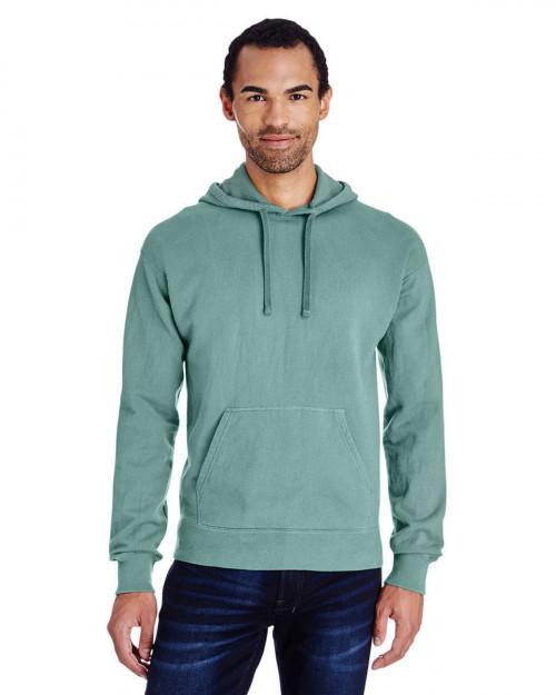 ComfortWash by Hanes GDH450 Unisex 80/20 Pullover Hood Sweatshirt - Cypress Green - S #%20