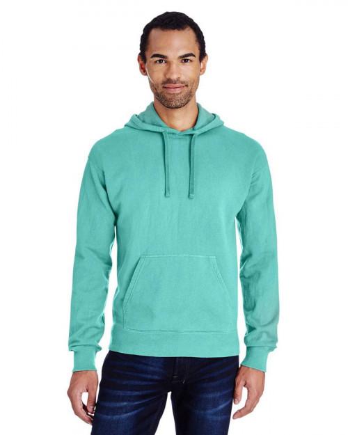 ComfortWash by Hanes GDH450 Unisex 80/20 Pullover Hood Sweatshirt - Mint - S #%20