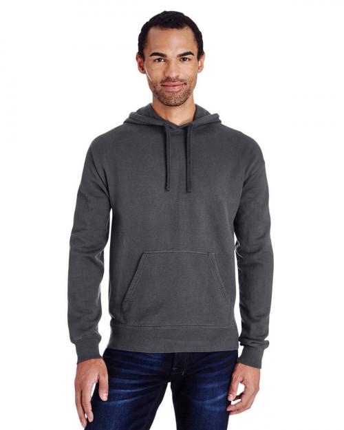 ComfortWash by Hanes GDH450 Unisex 80/20 Pullover Hood Sweatshirt - New Railroad - S #%20