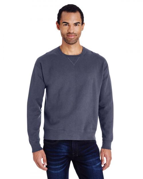 ComfortWash by Hanes GDH400 80/20 Crewneck Unisex Sweatshirt - Anchor Slate - S #%20