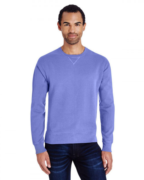 ComfortWash by Hanes GDH400 80/20 Crewneck Unisex Sweatshirt - Deep Forte - S #%20