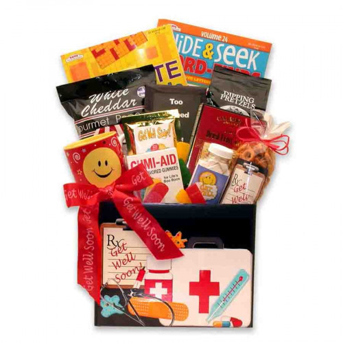 A great gift to give that loved one who's under the weather! Are They Feeling Under The Weather? This gift basket is designed to make them feel so much better, because we've including many tasty treats that will brighten their day. Give a Gift that will M #gift