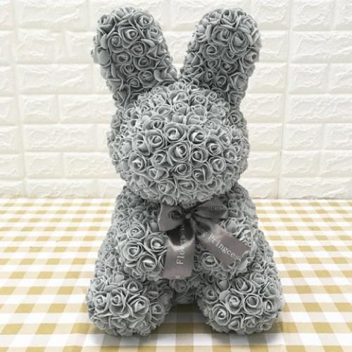 Creative Eternal Flower Rose Rabbit Christmas Gift With Gift Box #gift