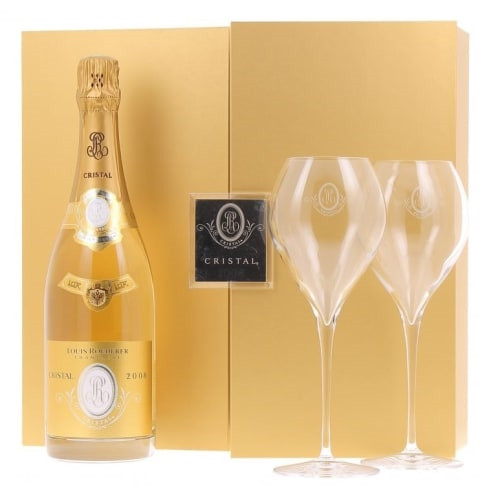 A gift that exceeds expectations in presentation and quality, this exquisite gift set is an impressive way to send a bottle of upscale champagne. The unique experience begins with a metallic-accented wine box that opens to reveal a bottle of Veuve Clicquo #gift