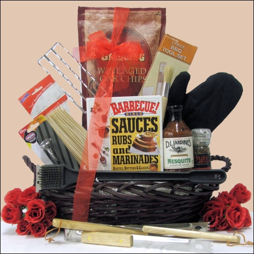 For the Dad who loves to Grill & Chill, this is the Perfect Father's Day gift! Includes a great selection of practical BBQ gift items like a three-piece tool set, Kingsford Cotton BBQ Grill Mitt, Gourmet Wine Aged BBQ Grilling Chips and features the Steve #gift