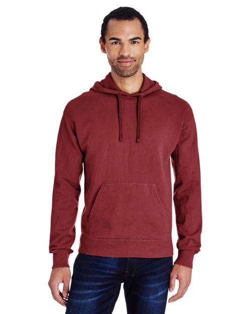 ComfortWash by Hanes GDH450 Unisex 80/20 Pullover Hood Sweatshirt - Cayenne - S #%20
