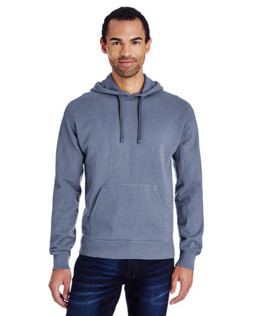 ComfortWash by Hanes GDH450 Unisex 80/20 Pullover Hood Sweatshirt - Saltwater - S #%20