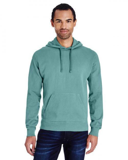 ComfortWash by Hanes GDH450 Unisex 80/20 Pullover Hood Sweatshirt - Spanish Moss - S #%20