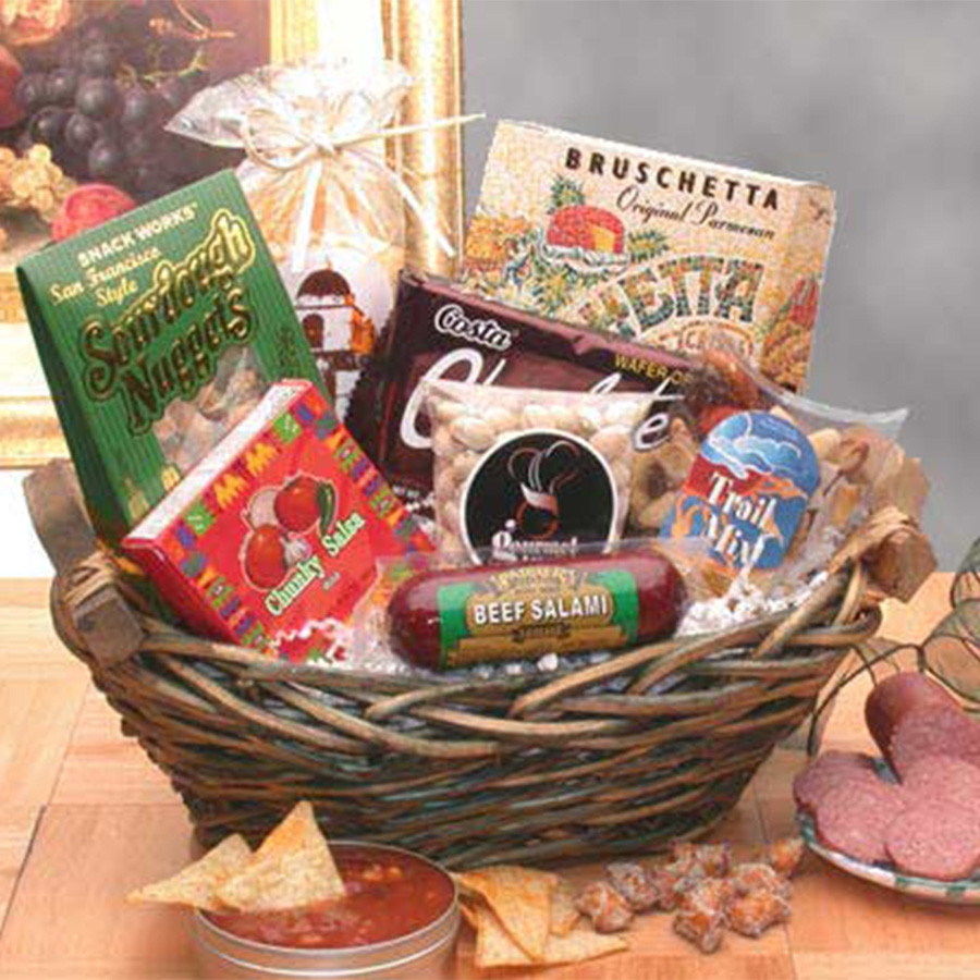 One Gift for Most Occasions! A classic snack gift basket for all seasons & occasions! Let those special people in your life know how much you care about them. Totally tasty! #gift