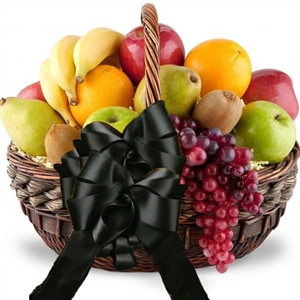 Same Day Delivery for Sympathy and Funeral Fruit Gift Basket. Send an elegant sympathy gift basket or funeral gift of fresh fruit as a thoughtful way to show your love and support during difficult times. Your grieving friend or family member will enjoy ca #gift