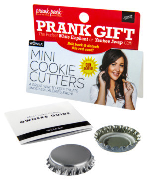 Mini Cookie Cutters Prank Gift #gift