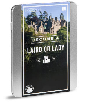 Become a Laird or Lady Gift Box #gift