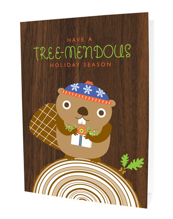 'have a tree-mendous holiday season' #gift