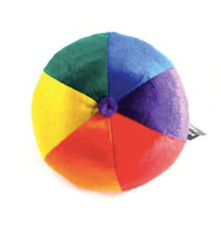 Comfy Full Rainbow Plush Ball (9 Inches) - LGBT Gifts - Lesbian and Gay Gift #gift